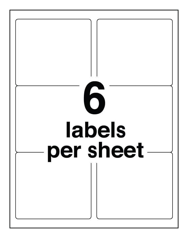 Avery Template For 33 Labels Per Sheet