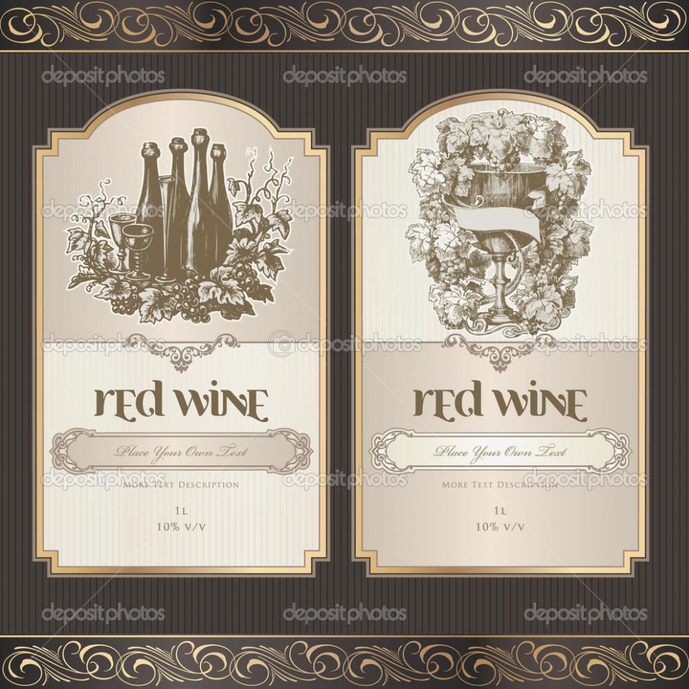 Avery Wine Bottle Label Templates