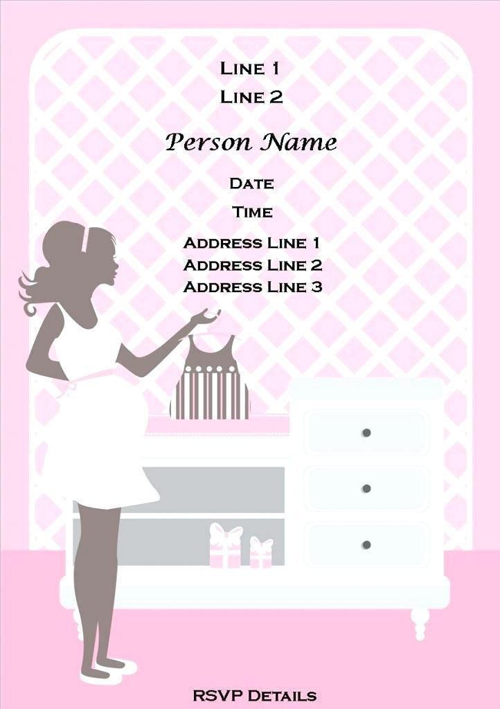 Baby Girl Naming Ceremony Invitation Templates