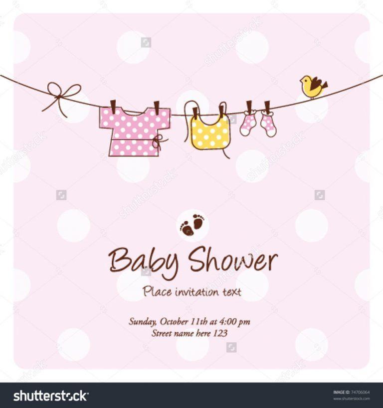 Baby Naming Ceremony Invitation Template