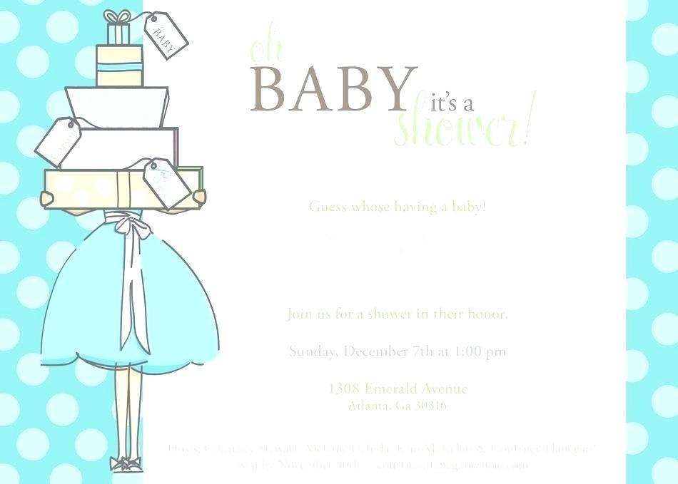 Baby Shower Invite Template Online