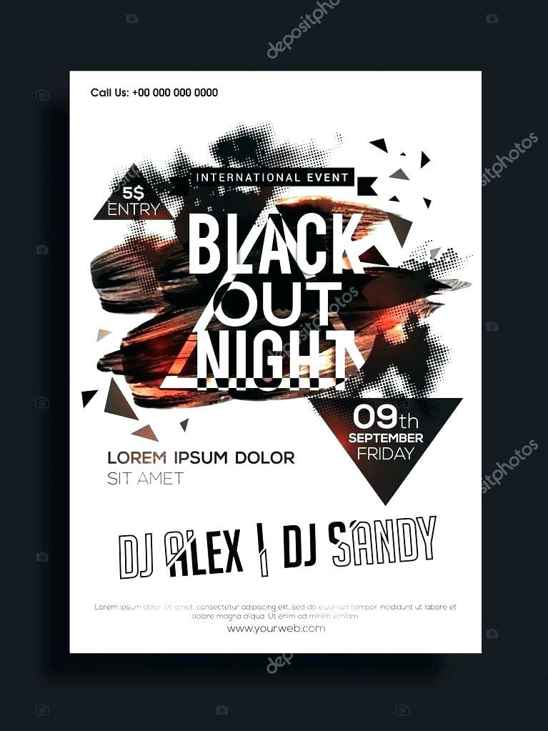 Band Flyer Templates Word