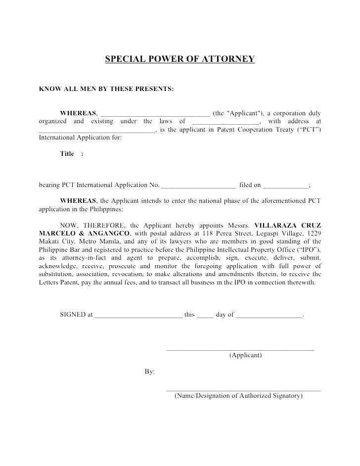 Banking Power Of Attorney Forms