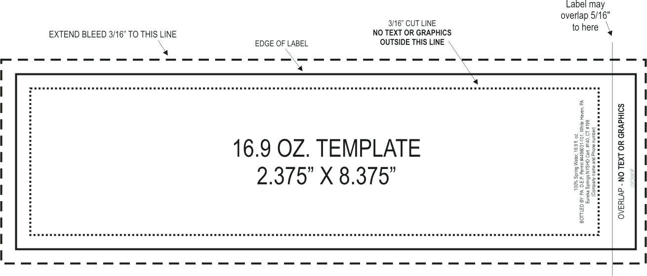 Beer Label Template Publisher