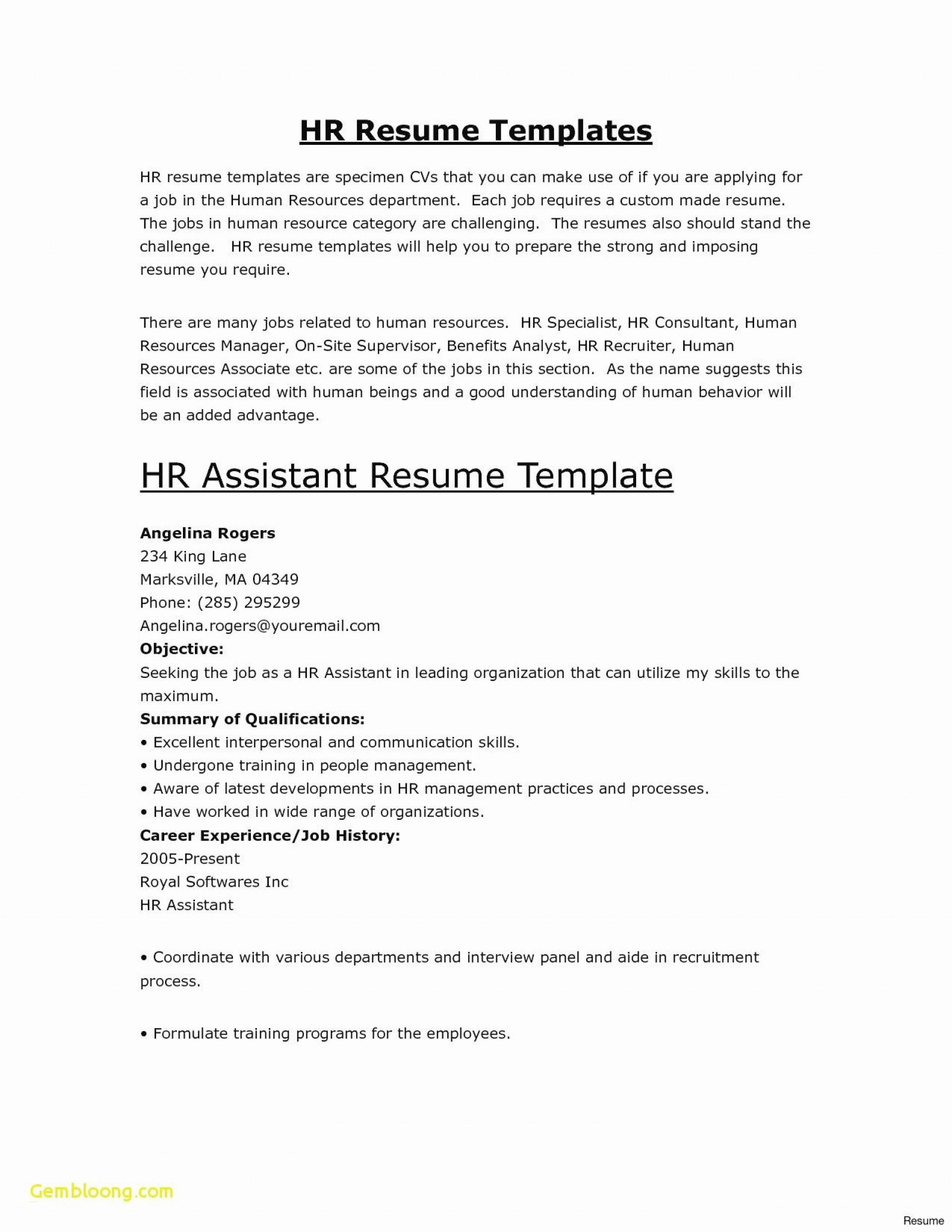 Beginning Acting Resume Template