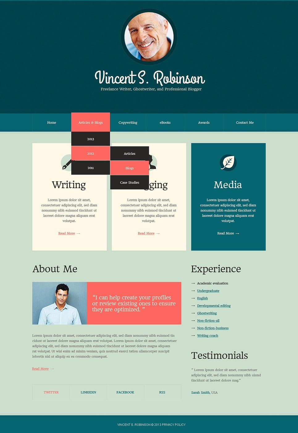 Best Drupal Theme For Personal Website