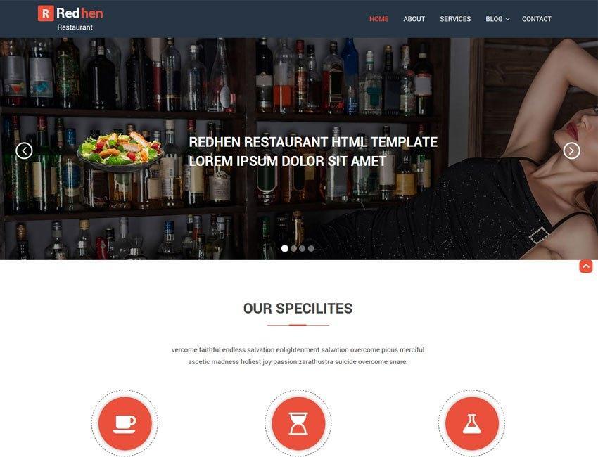 Best Restaurant Template Wordpress