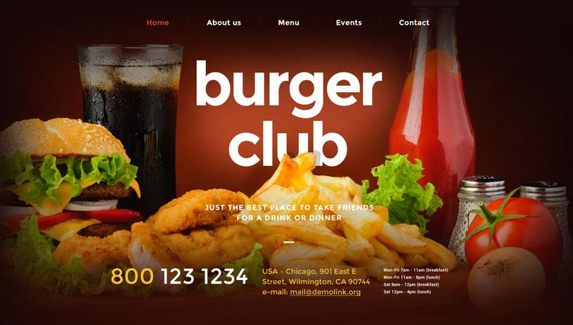 Best Restaurant Website Templates Free