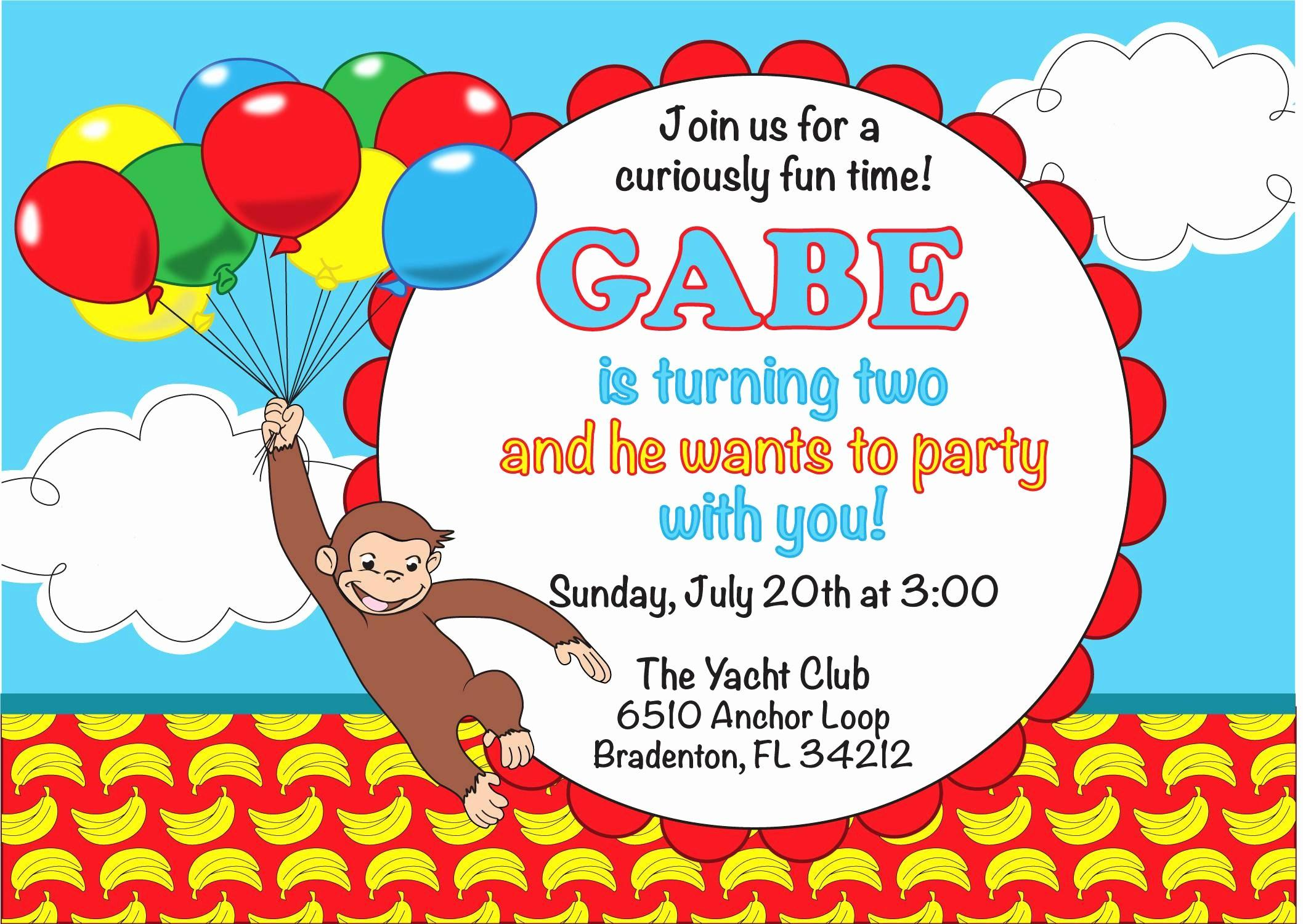 Birthday Party Invite Template Pdf