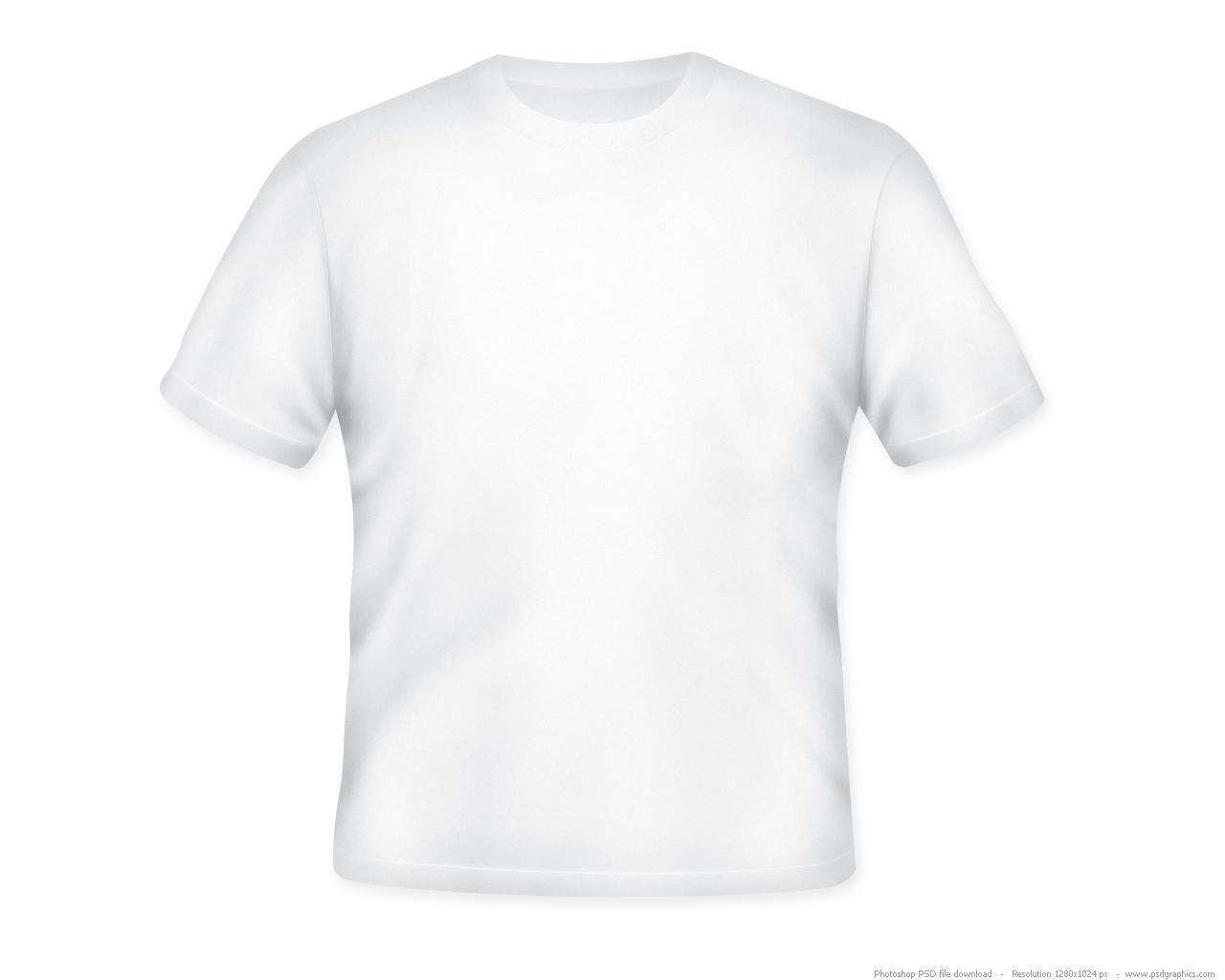 Blank T Shirt Template Photoshop