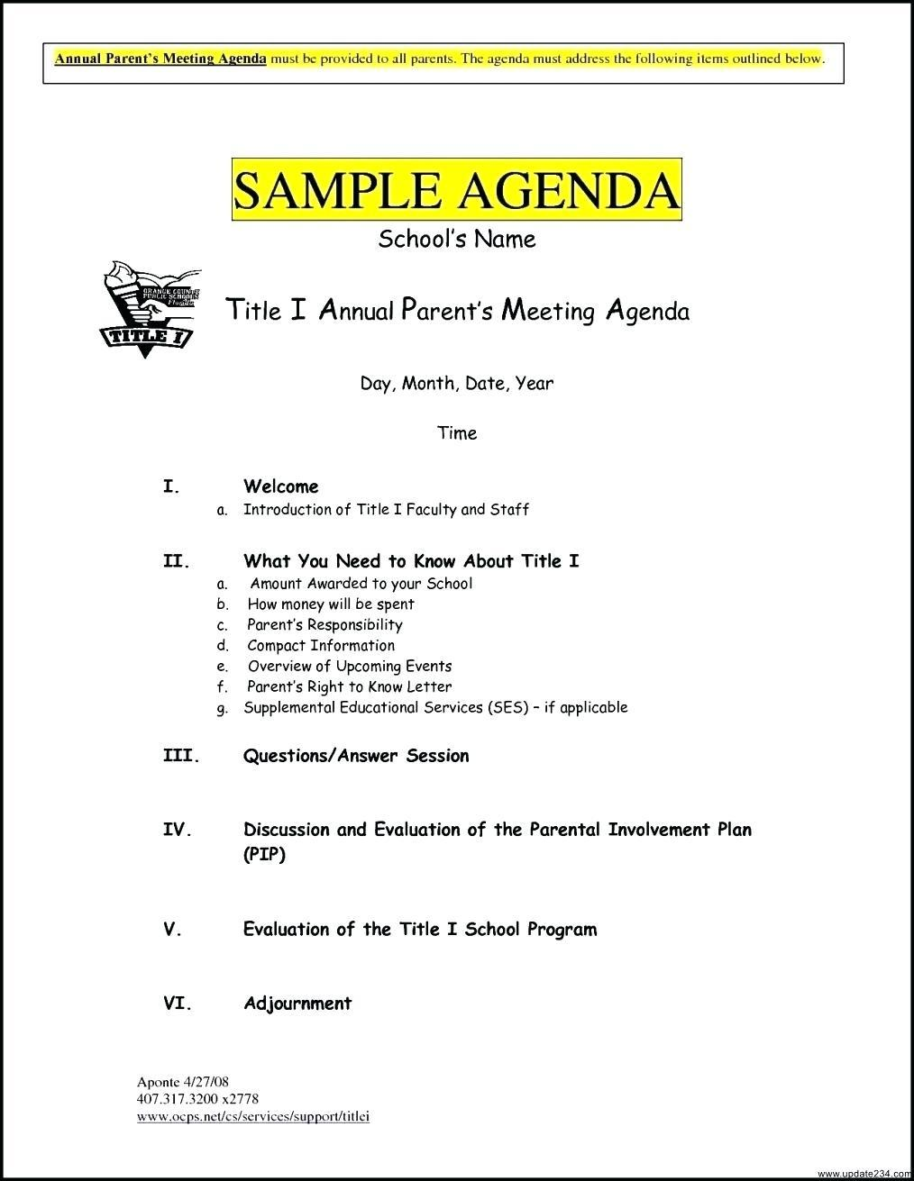 Board Meeting Agenda Template South Africa