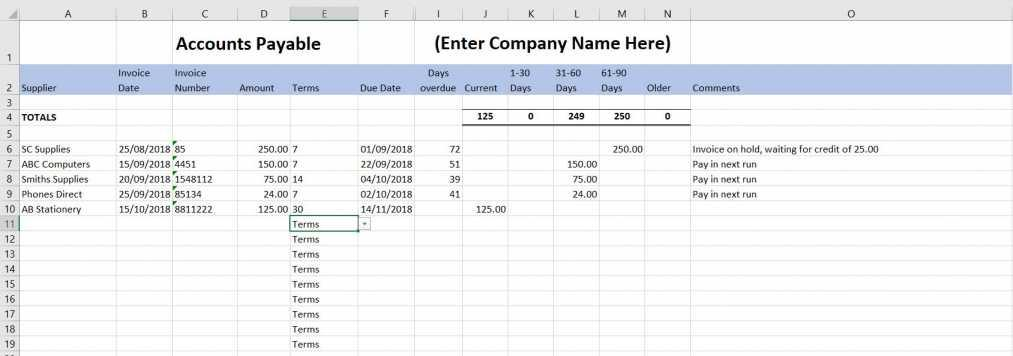 Bookkeeping Templates For Self Employed Uk