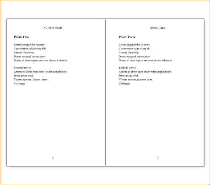 Booklet Design Templates Word