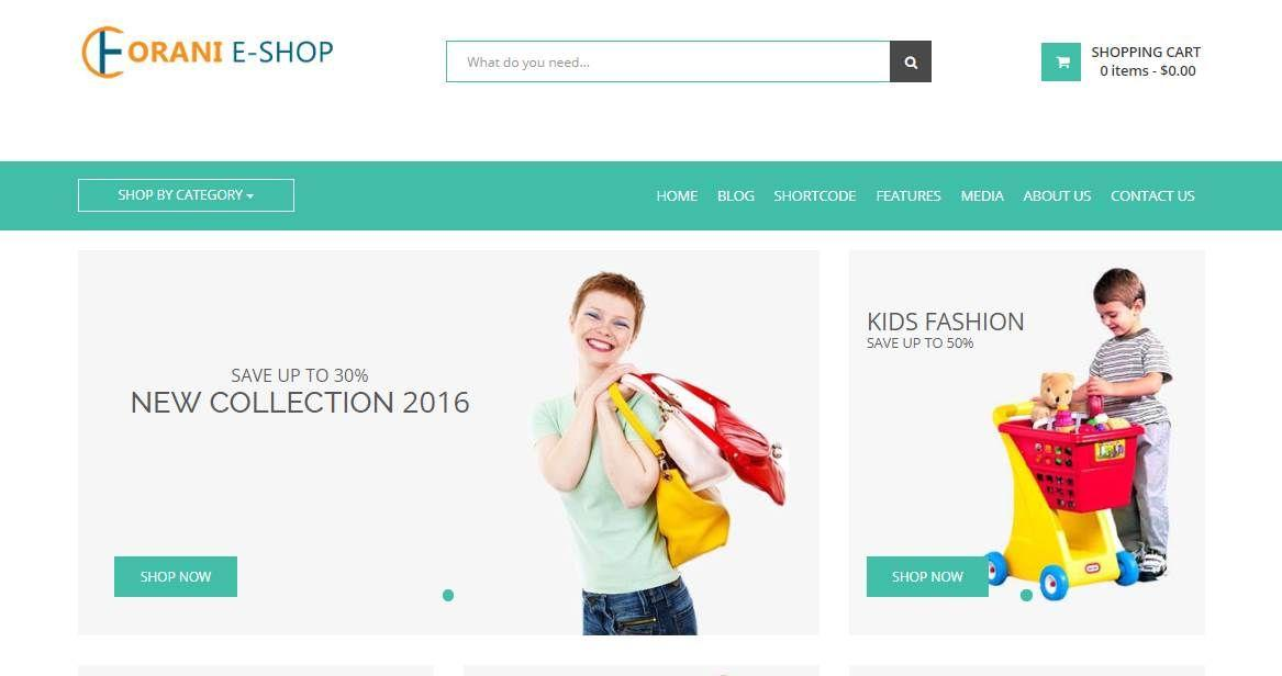 Bootstrap Css Template Ecommerce