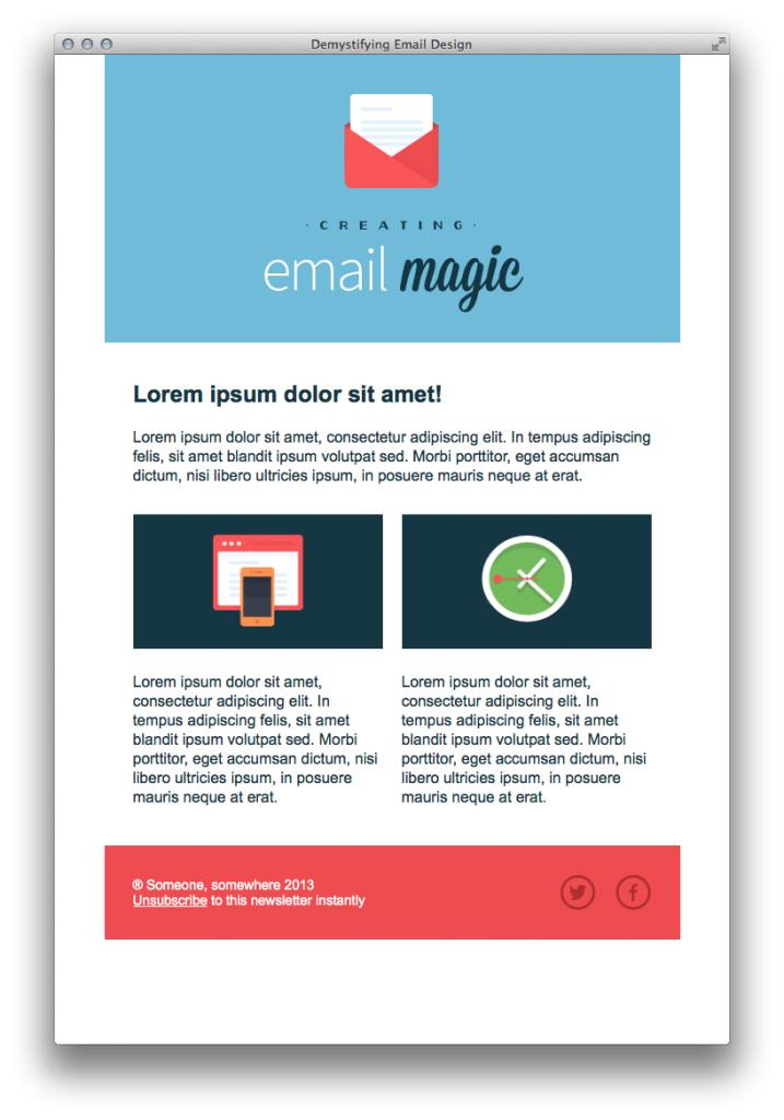 Bootstrap Template For Mailchimp