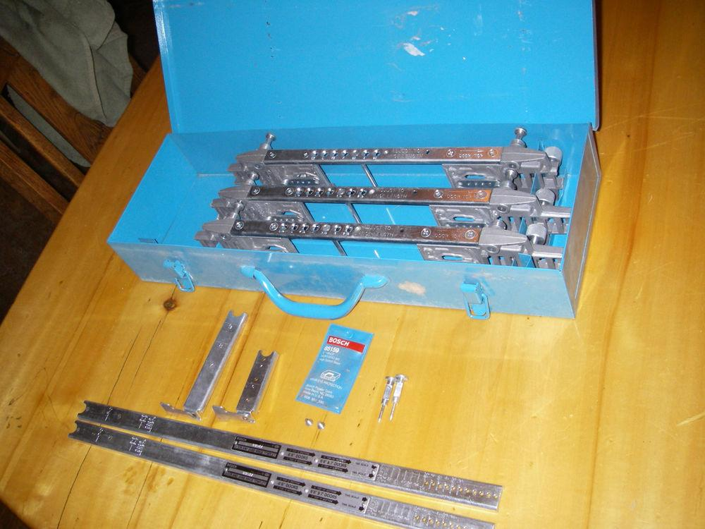 Bosch 83038 Deluxe Door & Jamb Hinge Template Kit