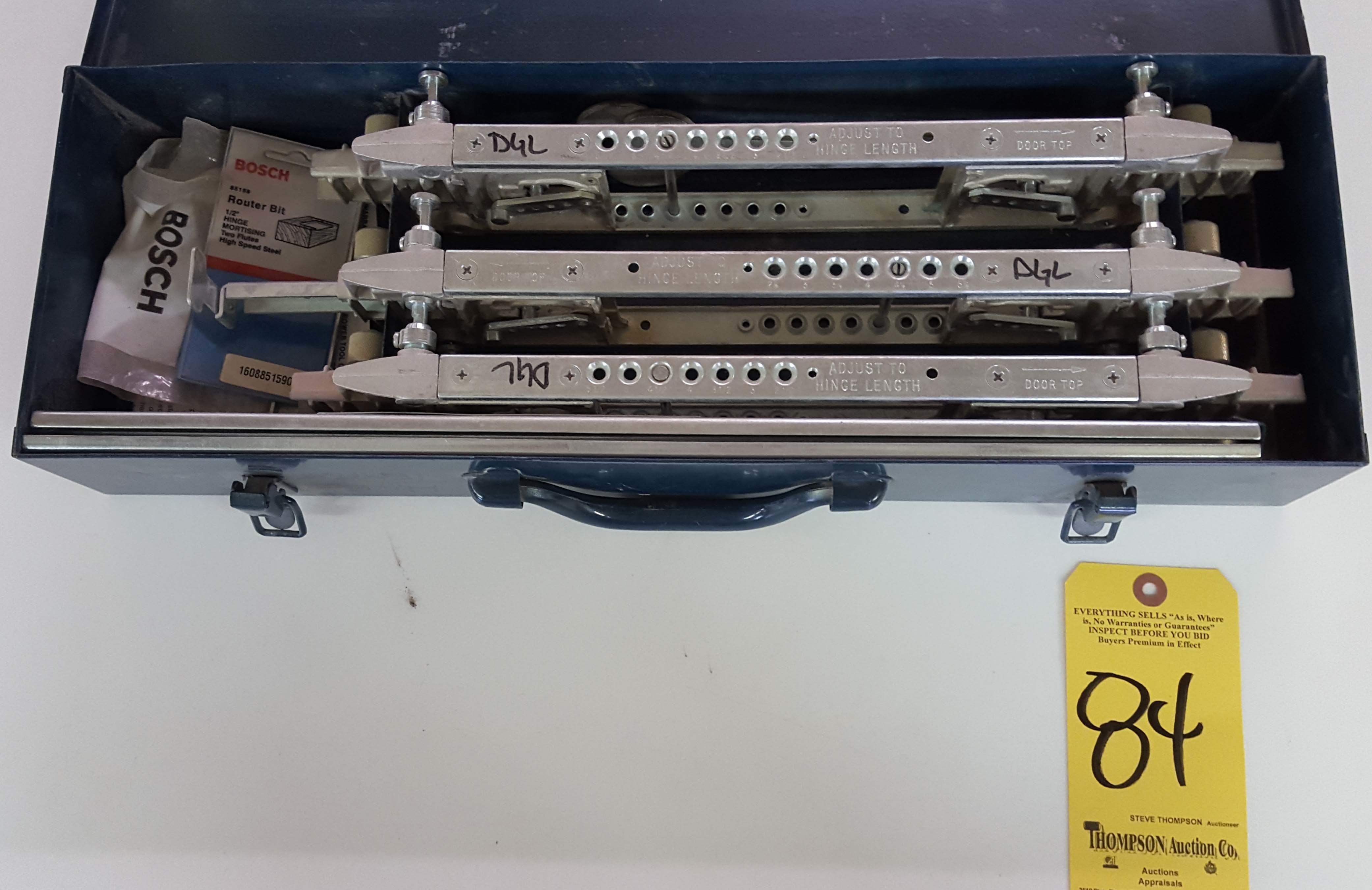 Bosch Door And Jamb Hinge Template Instructions