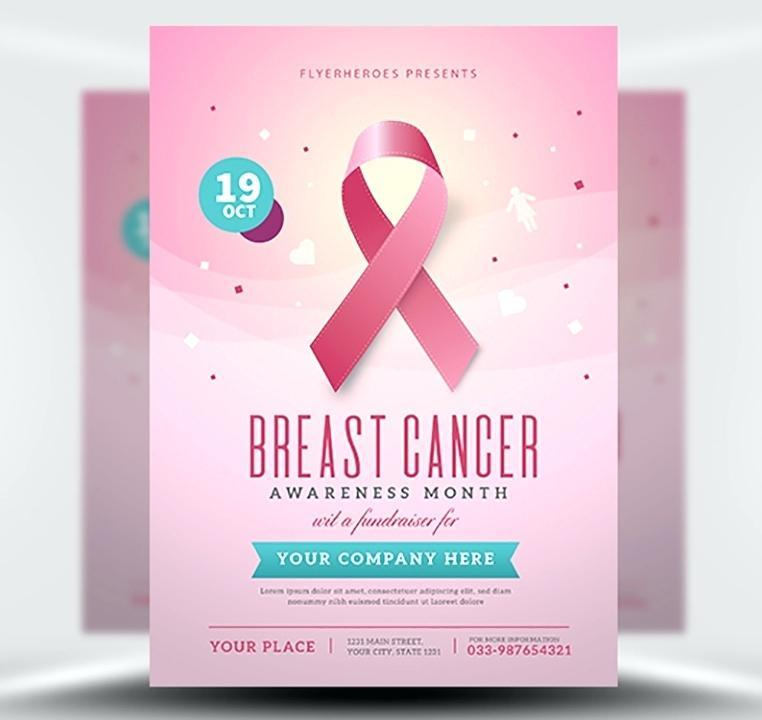 Breast Cancer Awareness Word Template