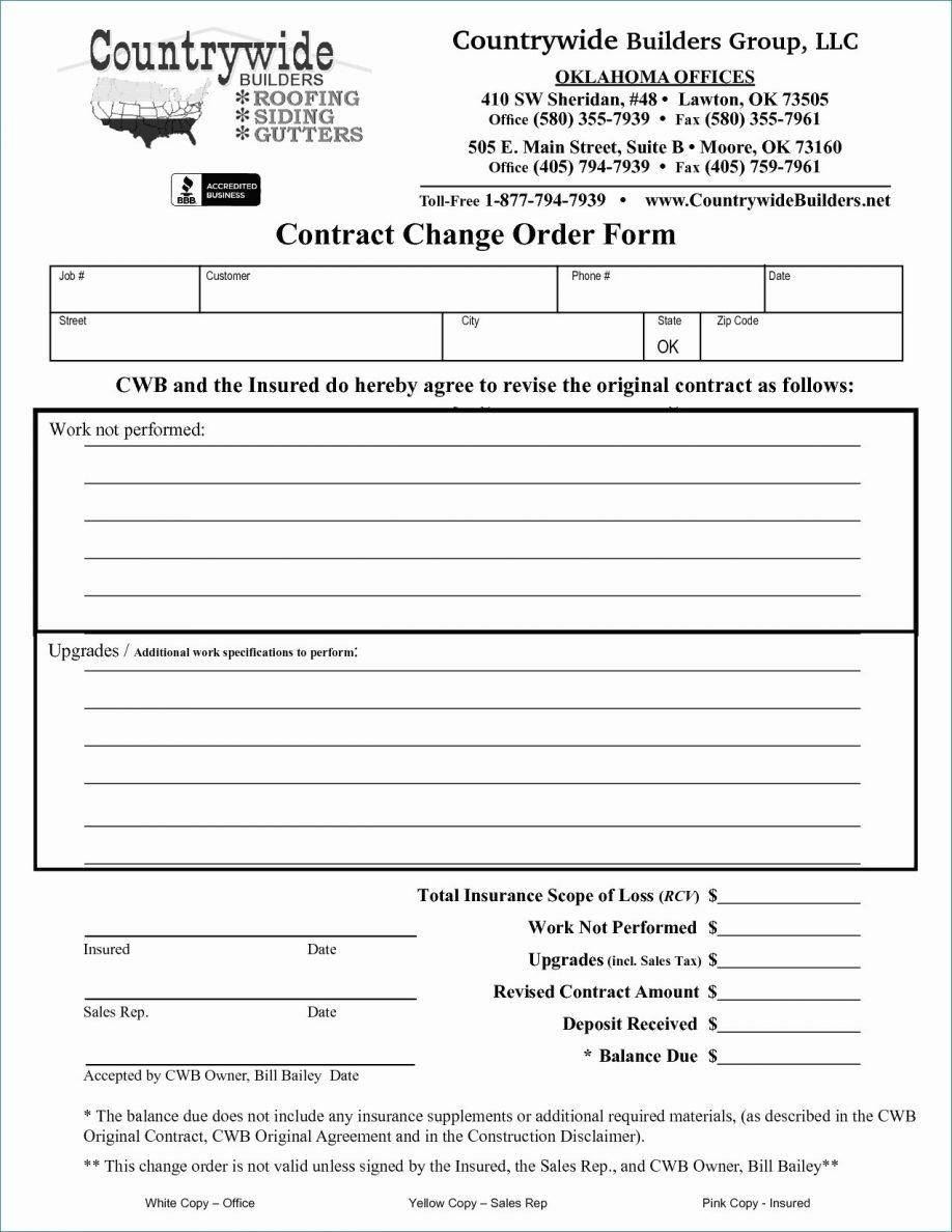Builders Contract Template Free