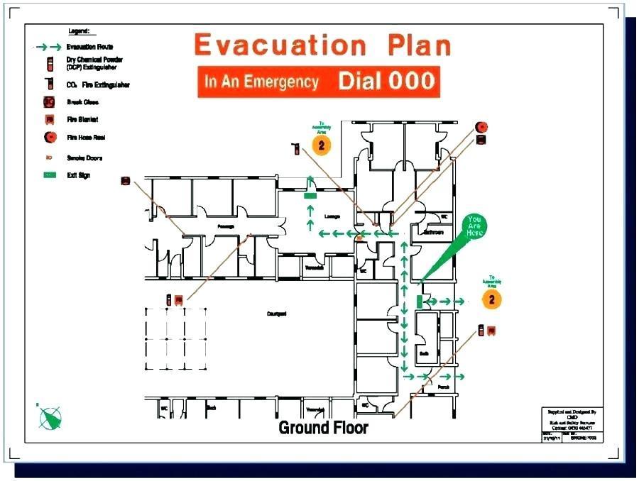 Building Fire Evacuation Plan Template