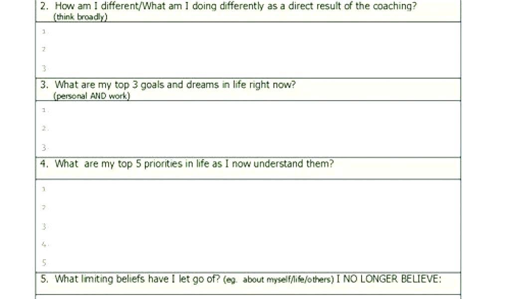 Business Coaching Agreement Form