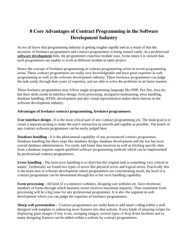 Business Development Consultant Contract Template