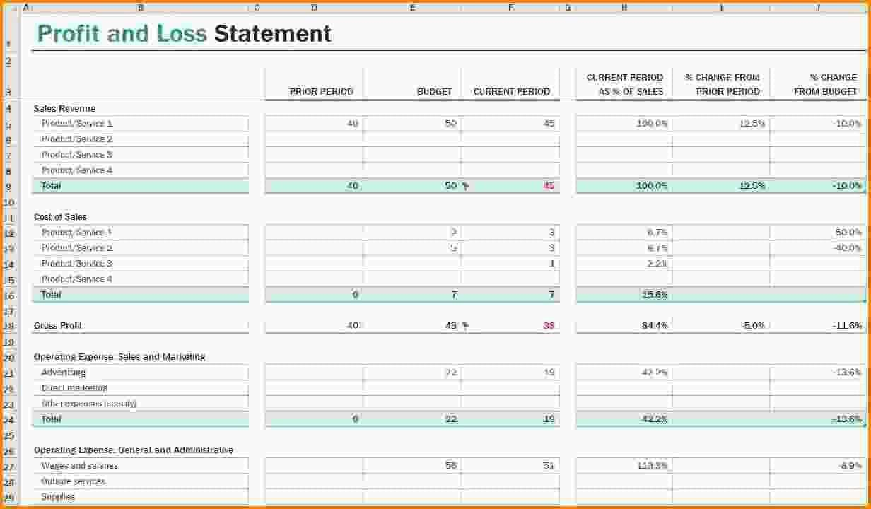 Business Expense Form Template Free