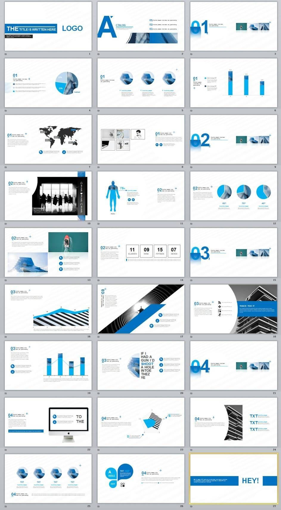 Business Powerpoint Templates Creative