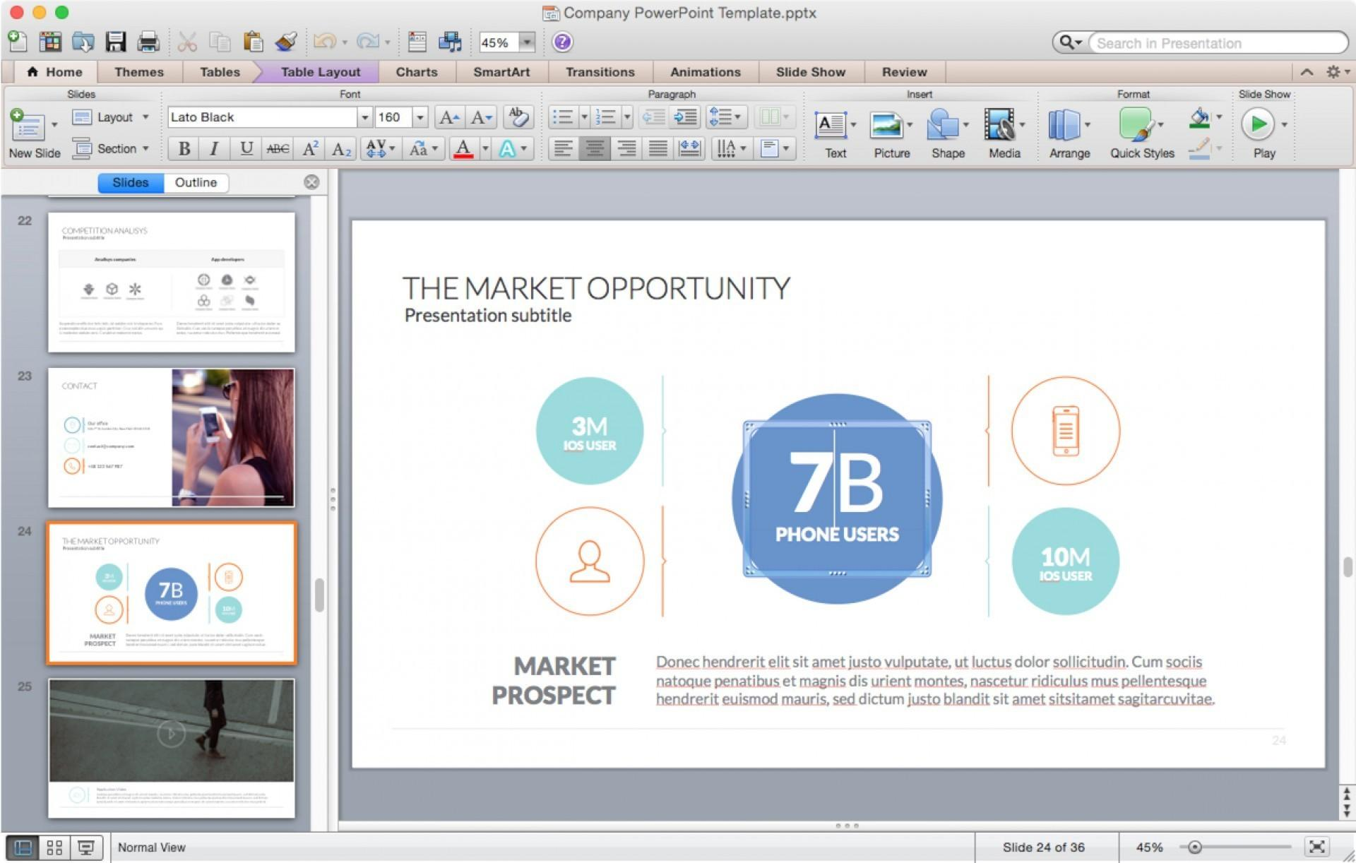 Business Powerpoint Templates For Mac