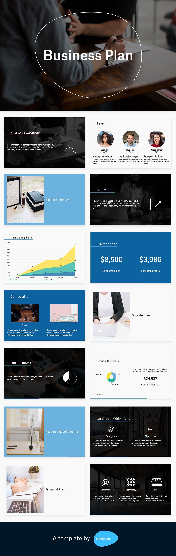 Business Presentation Templates Pdf