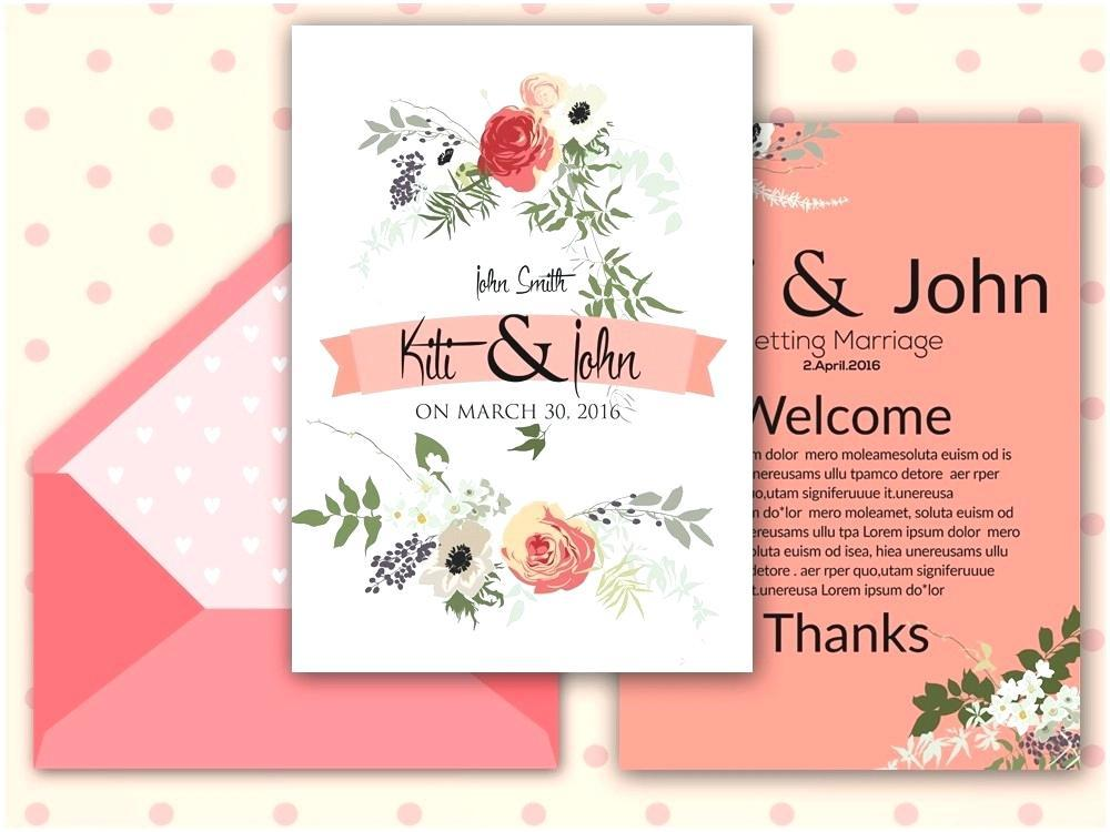 Butterfly Themed Invitation Template