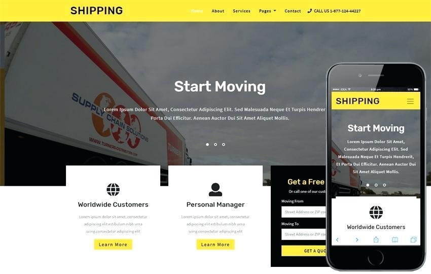 Carpooling Website Template