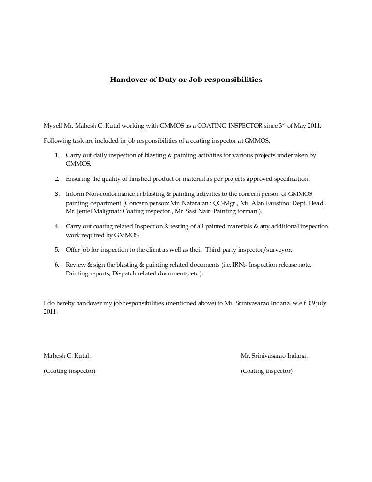 Cctv Project Handover Document Template