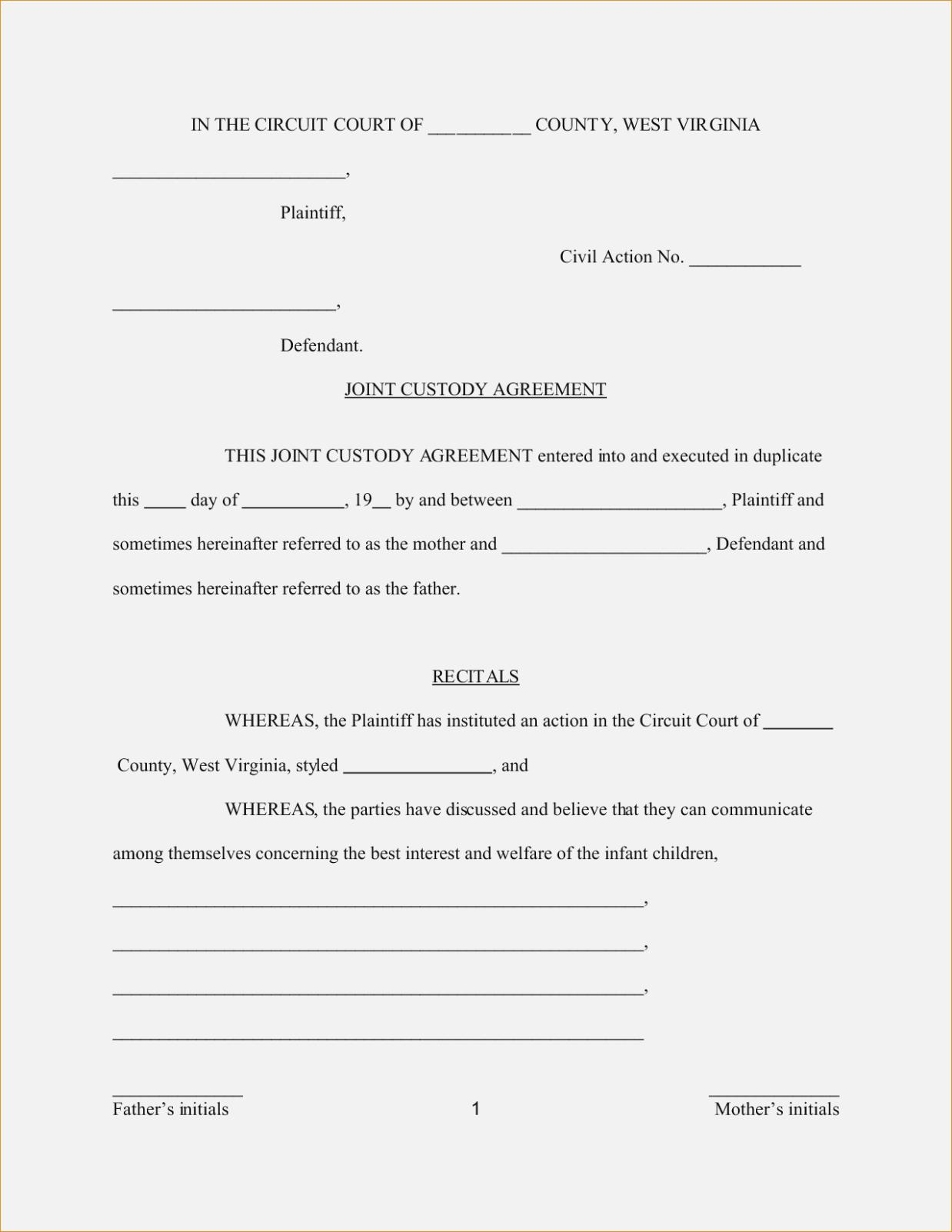 image relating to Free Printable Child Custody Forms called Absolutely free Printable Baby Custody Styles - Sorts #NjAwMQ Resume
