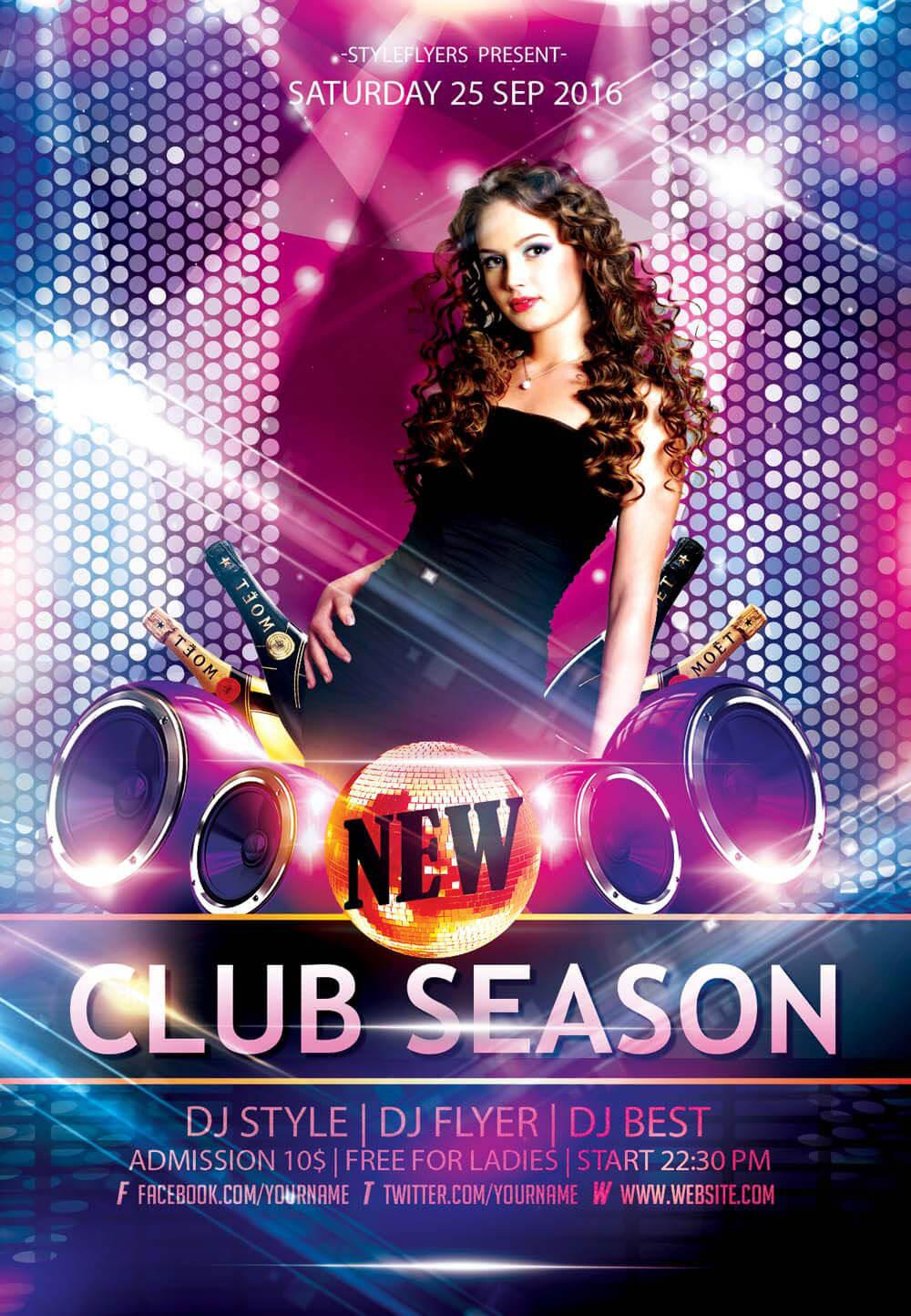 Club Flyer Templates Photoshop
