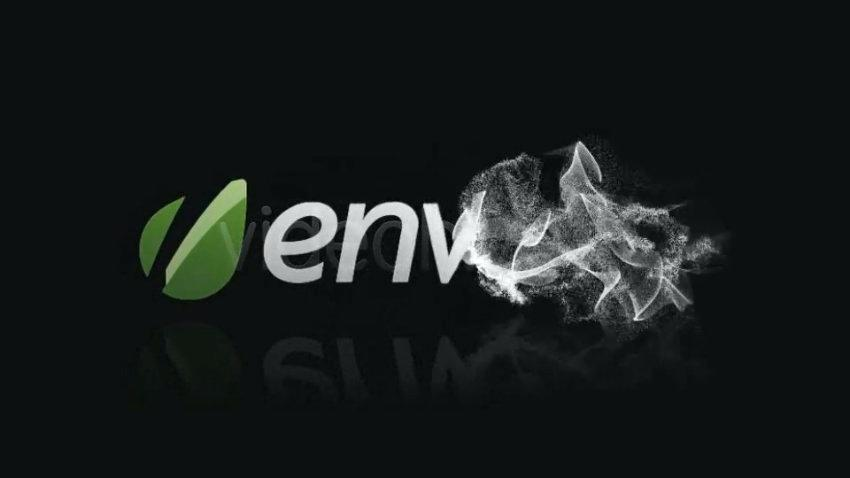 Colorful Smoke Logo Reveal After Effects Template Free Download