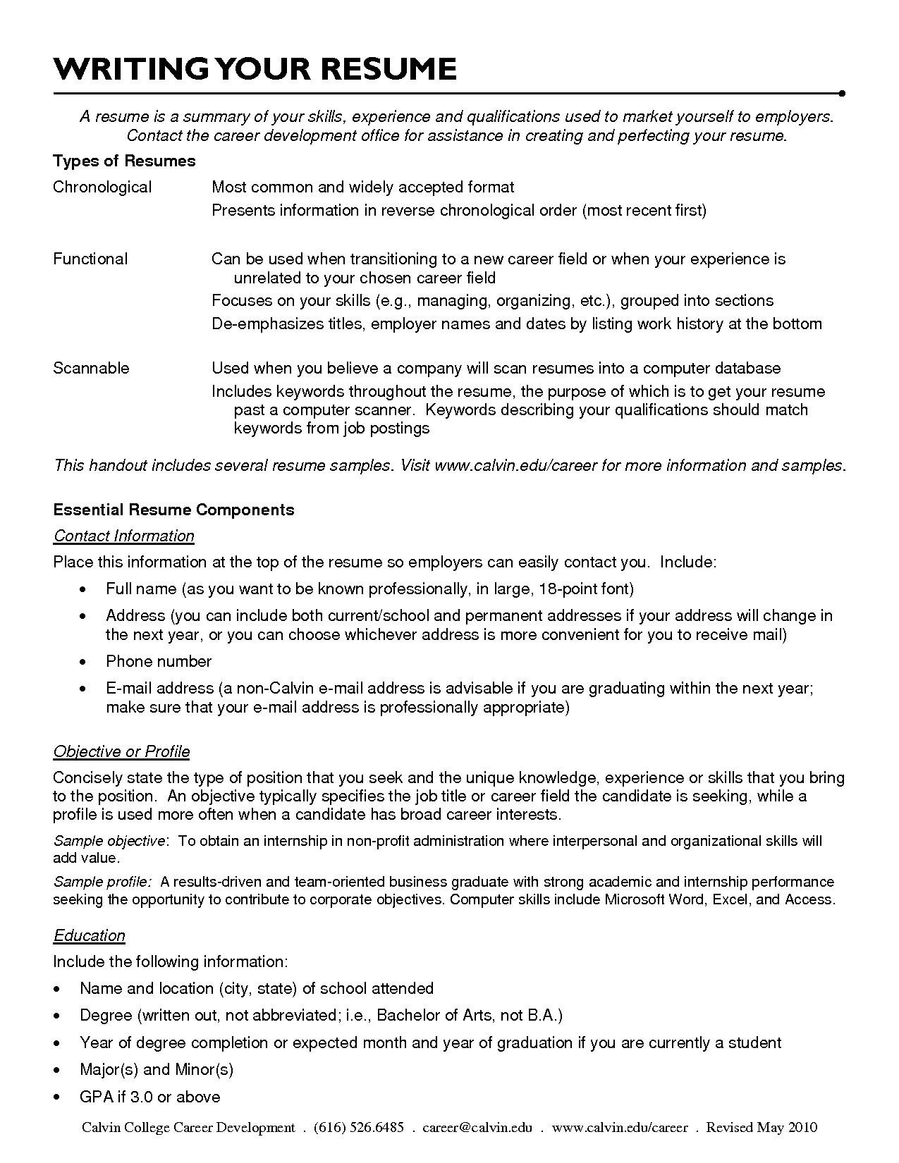 Combination Resume Examples Career Change - Templates #66112