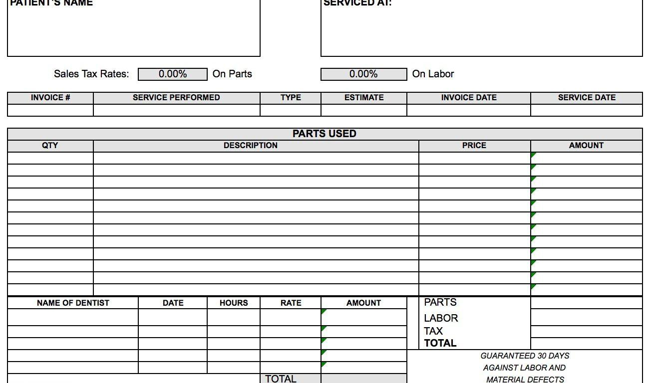 Commercial Invoice Template Excel 2007