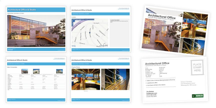Commercial Property Brochure Template