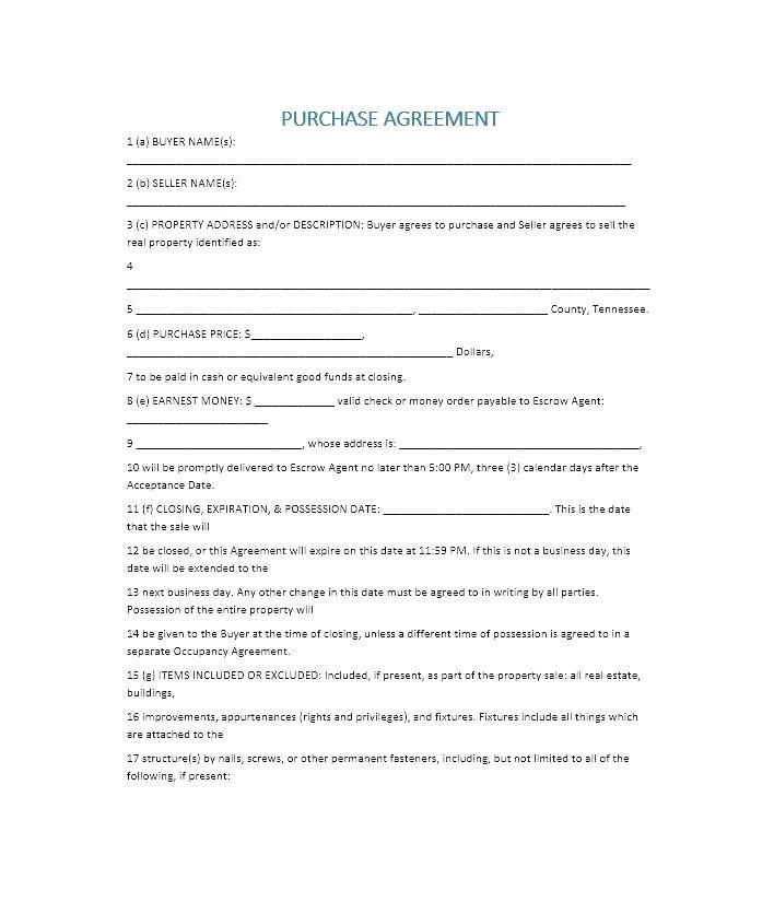 Commercial Property Sale Contract Template