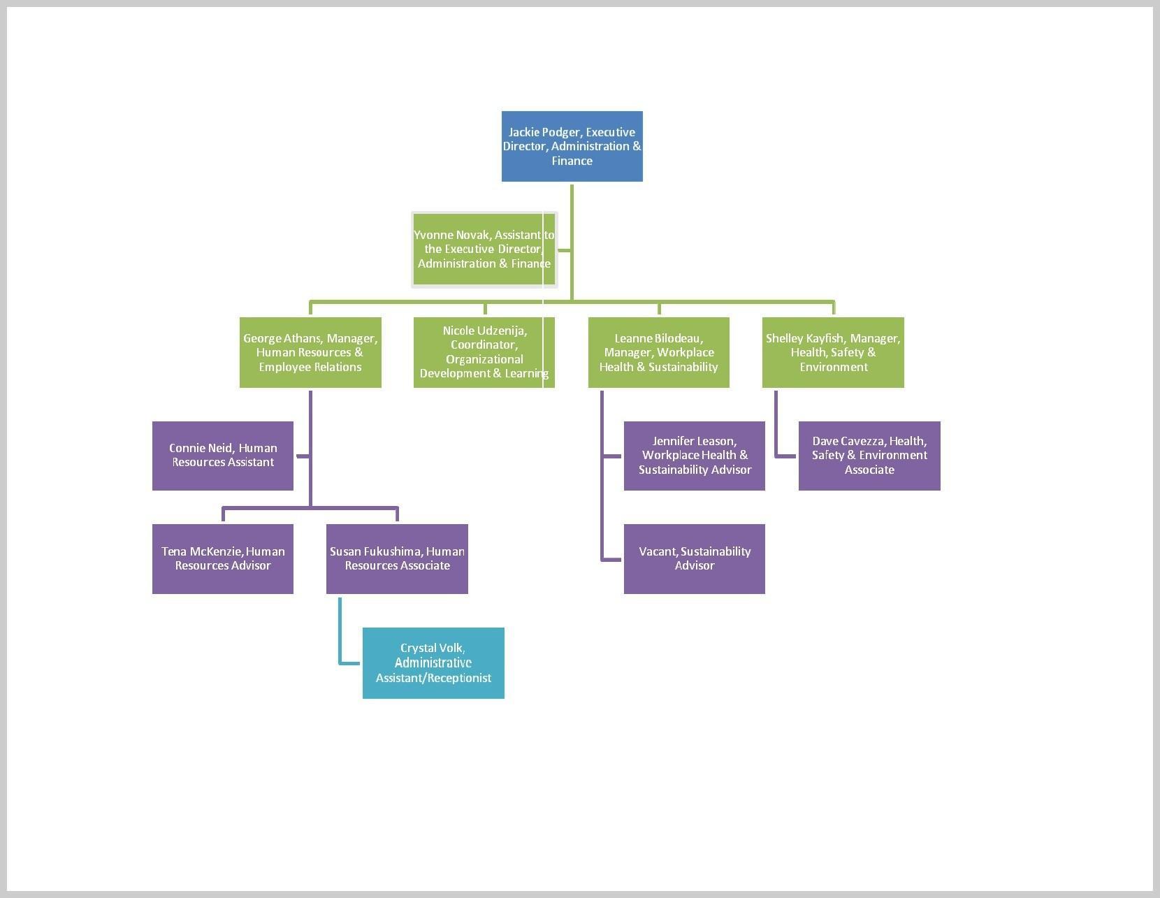 Company Organization Chart Template Word