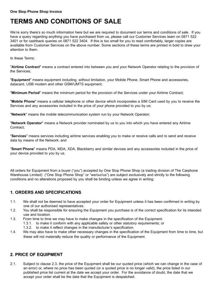 Competition Terms And Conditions Template Nz