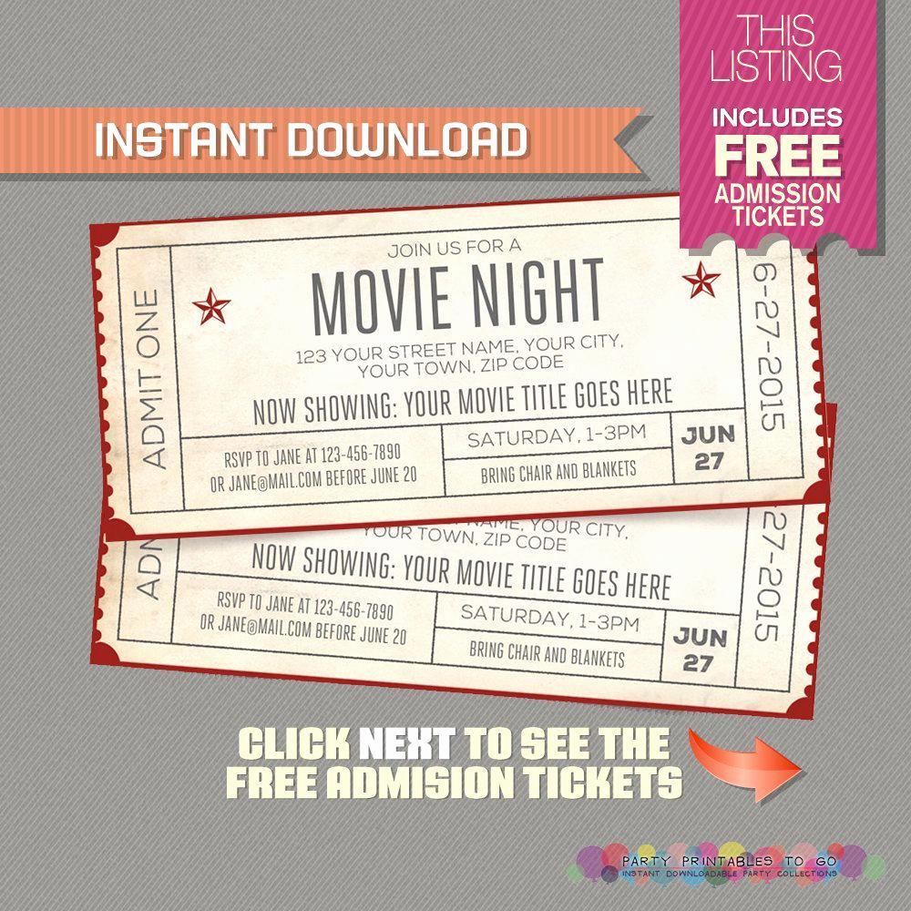 Concert Invitation Template Free