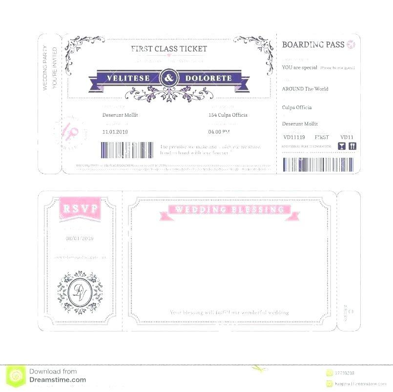Concert Ticket Samples