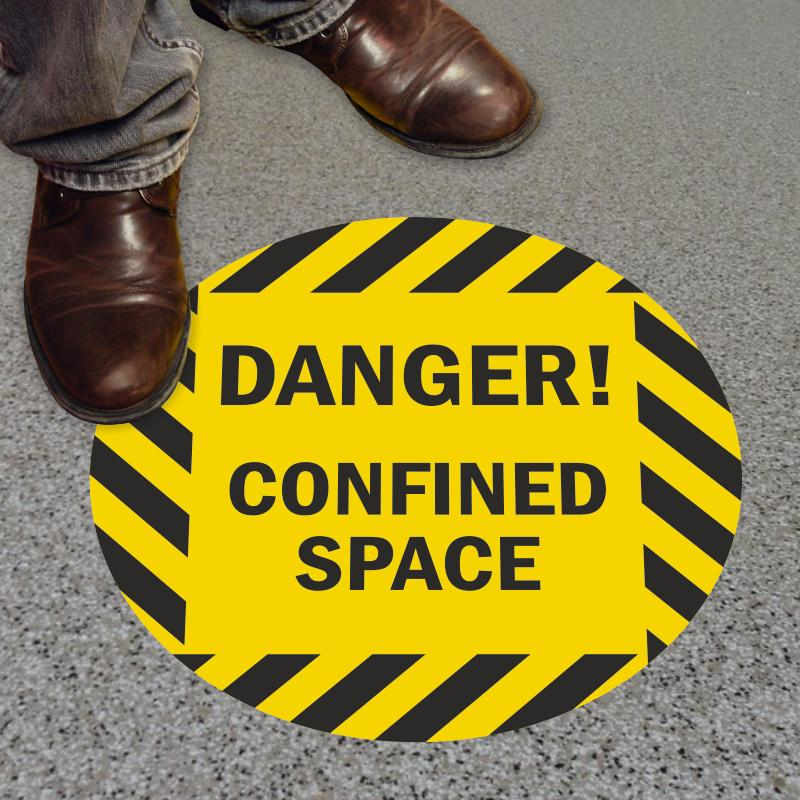 Confined Space Paint Template
