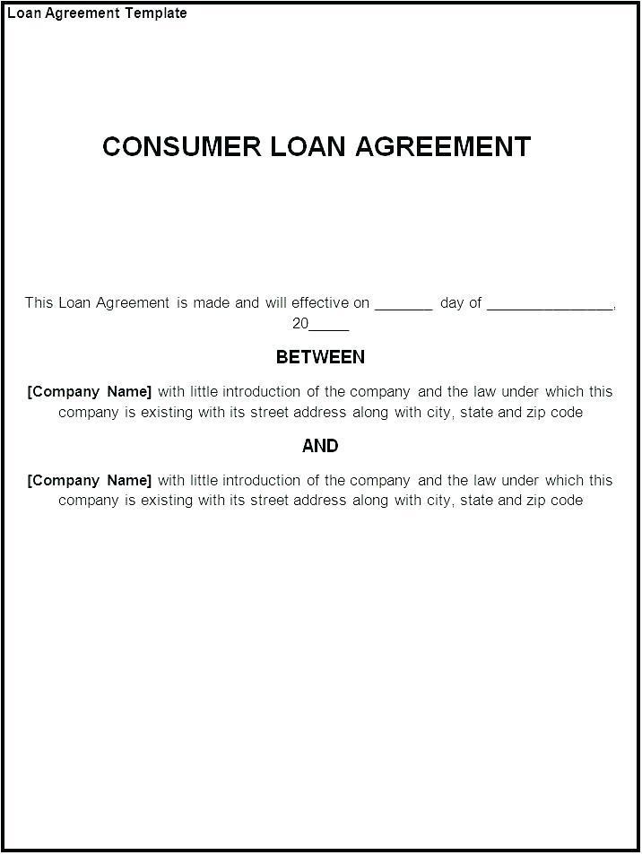 Contract For Lending Money Between Friends Template