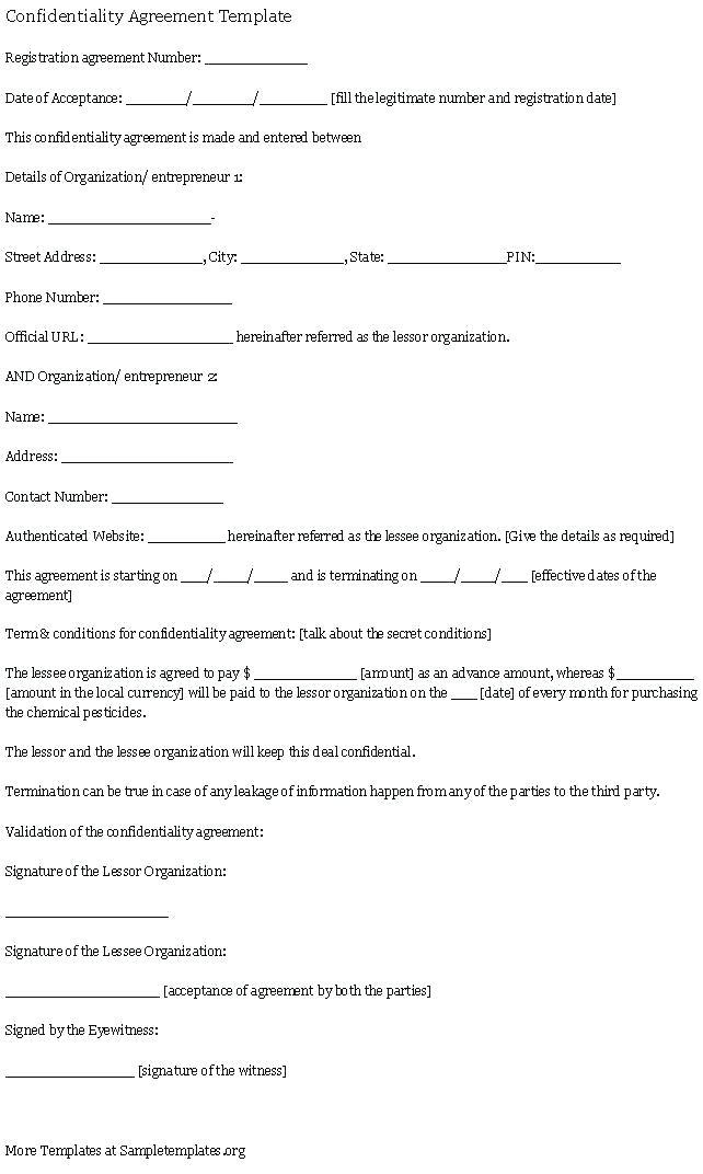 Contract Labor Contract Form