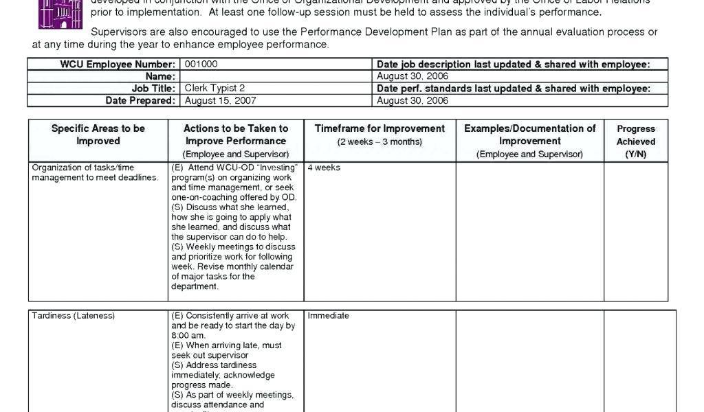 Contractor Work Schedule Template