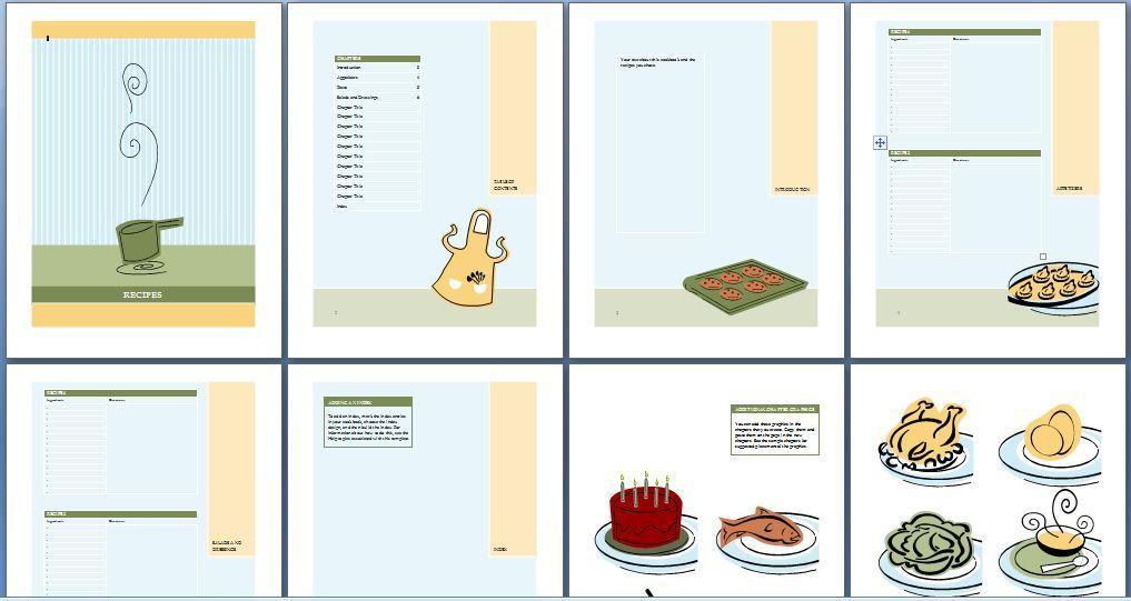 Cookbook Recipe Template