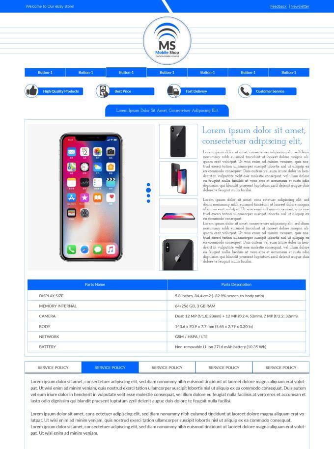 Create Listing Template Ebay